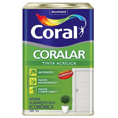 Tinta Acrílica Econômica Coralar – Coral