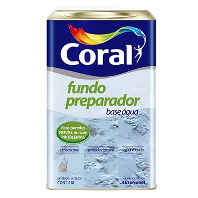 Fundo Preparador de Parede – Coral