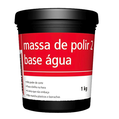 Massa para Polir Base D'água Maxi Rubber