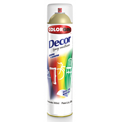 Spray Colorgin Decor Verniz